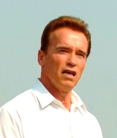 California Gov. Arnold Schwarzenegger (Credit: Jim Greenhill)