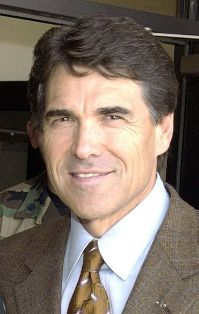 Texas Governor Rick Perry (Credit: Sandy Wassenmiller)