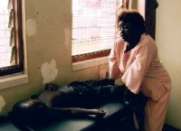 "A young malaria victim (Still from the film ""Not Evil Just Wrong"""