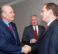 Fred Thompson and Assemblyman Chuck Devore (Source: Fred Thompson)