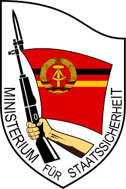 Seal of the Ministry of East German State Security