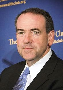Former Arkansas Governor, Mike Huckabee (Credit: David Ball)