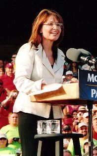 Sarah Palin in 2008 (Credit: Ben Aveling)