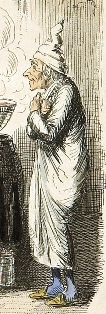 Scrooge, from Charles Dickens: A Christmas Carol