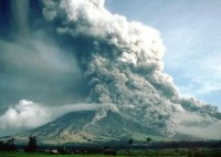 Pyroclastic flows at Mayon Volcano, Philippines, 1984 (Photo credit: C.G. Newhall)