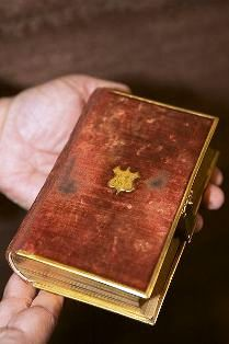 The bible used by Abraham Lincoln for his oath of office during his first inauguration in 1861.