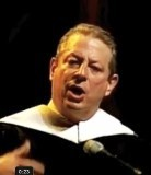 Gore Inspires Graduates With Tales of Doom and Ruin
