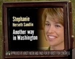 Herseth Sandlin: One Way Here, Another in Washington