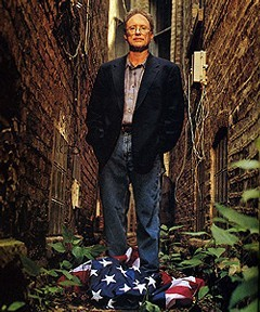 image-Bill Ayers trampling the American flag