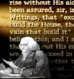 Ben Franklin: Advocate of Prayer at Govt Meetings