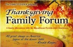 Thanksgiving Family Forum: GOP Candidates on Social Issues